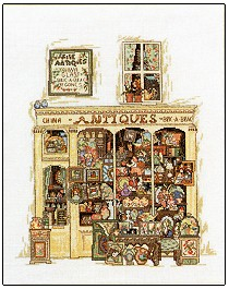 click here to view larger image of Antiques (chart)