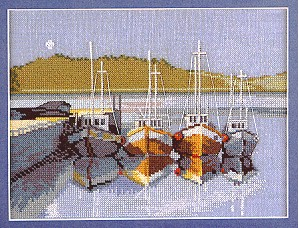click here to view larger image of Moonlight (counted cross stitch kit)