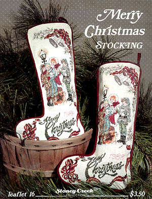 click here to view larger image of Merry Christmas Stocking (chart)
