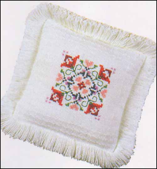 click here to view larger image of Lady Elizabeth Pillow Sham (stitchable)