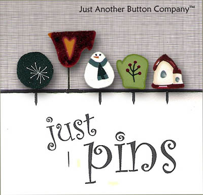 click here to view larger image of Just Pins - Frosty (pin)