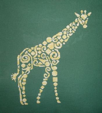 click here to view larger image of Tribal Giraffe (chart)