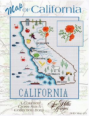 click here to view larger image of California Map (chart)