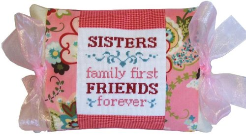 click here to view larger image of Sisters and Friends - Tie One On (counted cross stitch kit)