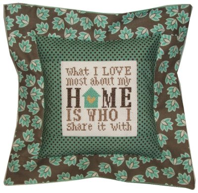 click here to view larger image of August - What I Love About My Home (counted cross stitch kit)