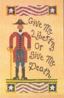 click here to view larger image of Patrick Henry - Give Me Liberty (chart)