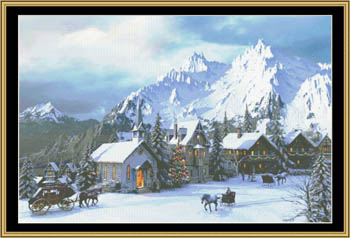 click here to view larger image of Alpine Christmas (chart)
