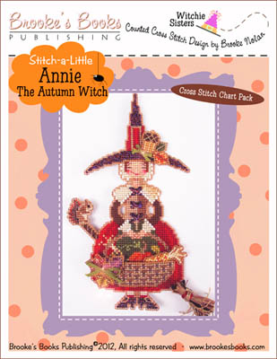 click here to view larger image of Stitch-A-Little - Annie the Autumn Witch (chart)