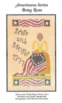 click here to view larger image of Betsy Ross - Stars and Stripes 1777 (chart)