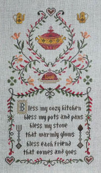 click here to view larger image of Kitchen Prayer (chart)