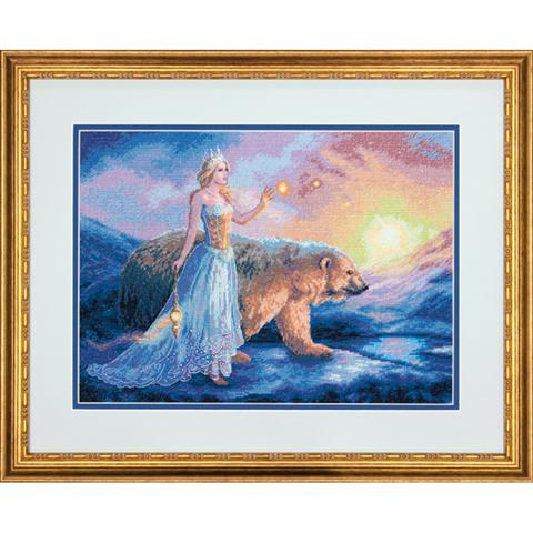 click here to view larger image of Aurora (counted cross stitch kit)