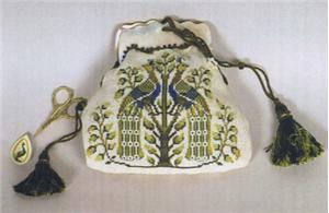 click here to view larger image of Italian Peacocks Purse (chart)