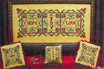 click here to view larger image of Christmas Hope Joy Love (chart)