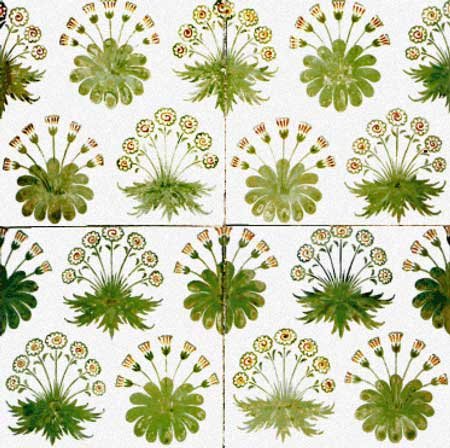click here to view larger image of Daisy Tiles (chart)