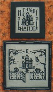 click here to view larger image of One Color Wonders - Midnight Manor (chart)