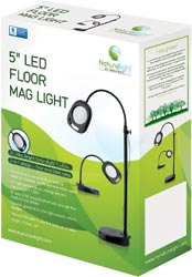 "click here to view larger image of 5"" Led Floor Mag Light (accessory)"