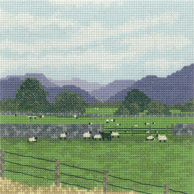 click here to view larger image of Cumbrian Sheep (counted cross stitch kit)