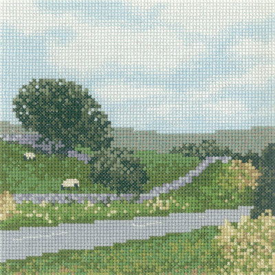 click here to view larger image of In The Dales (counted cross stitch kit)