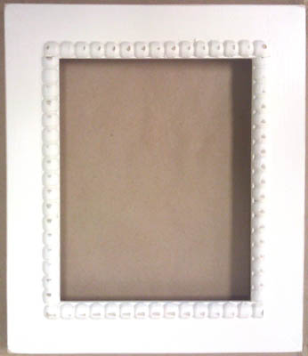click here to view larger image of Meg Frame (Shabby Icing) 6 x 7.5 (frame (ready made))