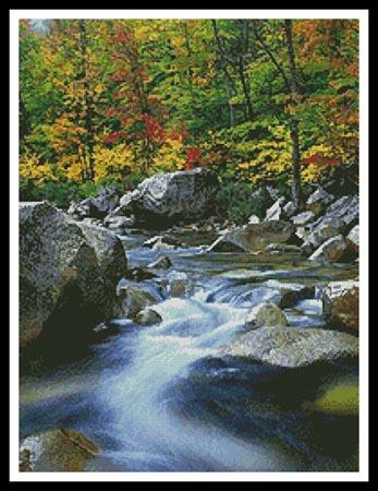 click here to view larger image of Autumn Stream (chart)