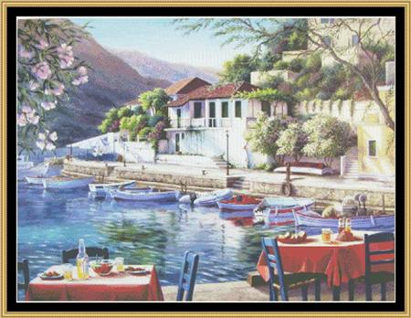 click here to view larger image of Assos Harbor - Favorite Landscape Collection (chart)