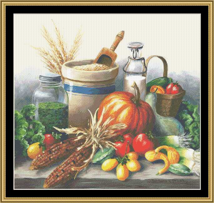 click here to view larger image of Harvest Still Life (chart)