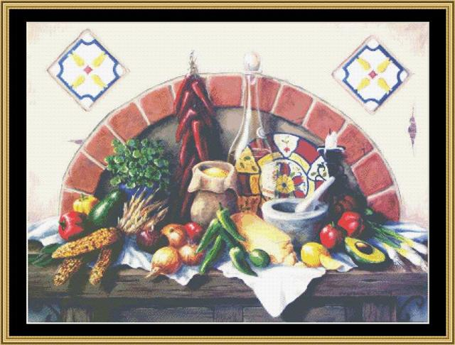 click here to view larger image of Mexican Still Life (chart)