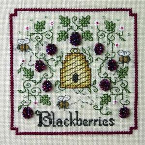 click here to view larger image of A-Buzz for Blackberries (chart with charms/buttons)