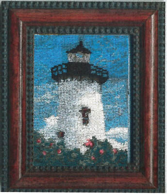 click here to view larger image of East Chop Lighthouse Kit (counted cross stitch kit)