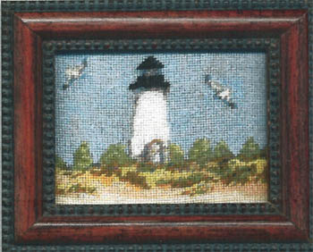 click here to view larger image of Cape Pogue Lighthouse Kit (counted cross stitch kit)
