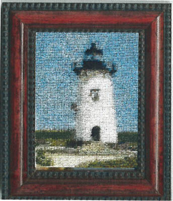 click here to view larger image of Edgartown Lighthouse Kit (counted cross stitch kit)