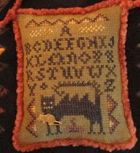 click here to view larger image of Wicked Cat Sampler (chart)