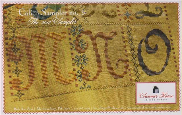 click here to view larger image of Calico Sampler No 5 (M N O) (chart)