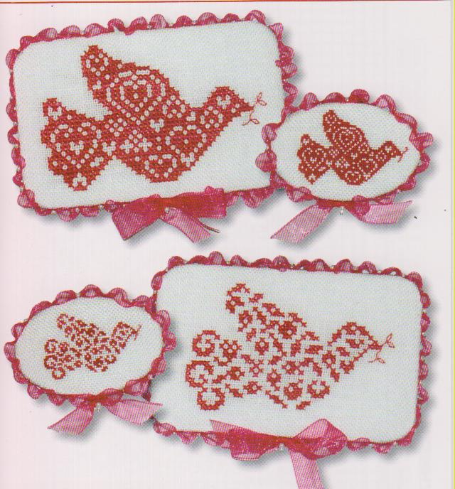 click here to view larger image of Christmas Doves I (chart)