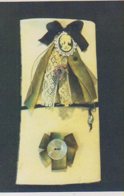 click here to view larger image of Macabre Madness Sewing Roll (counted cross stitch kit)