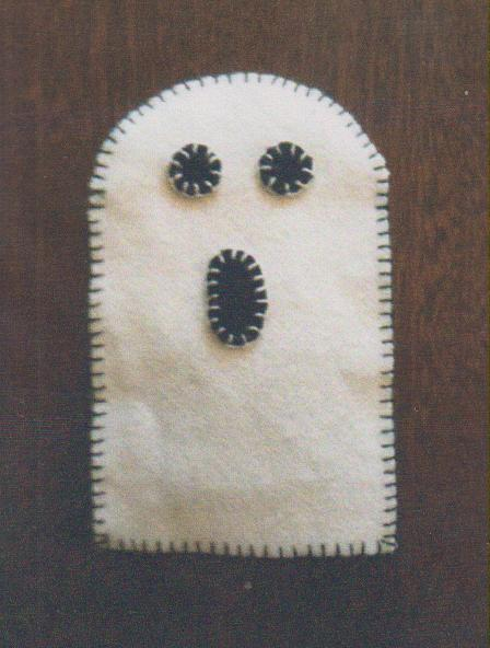 click here to view larger image of Bump In The Night Scissor Keeper (counted cross stitch kit)