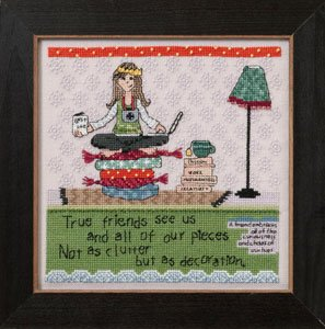 click here to view larger image of Clutter  (2012) (counted cross stitch kit)