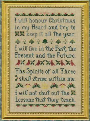 click here to view larger image of Christmas Spirit Sampler (chart)