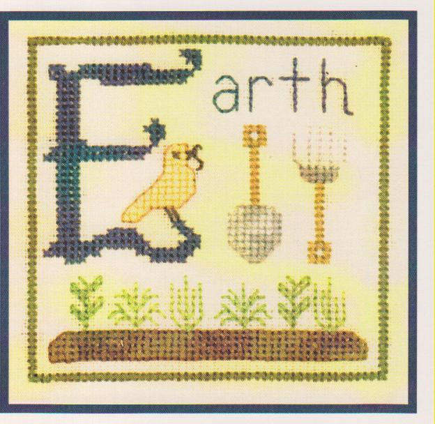 click here to view larger image of E is For Earth (chart)