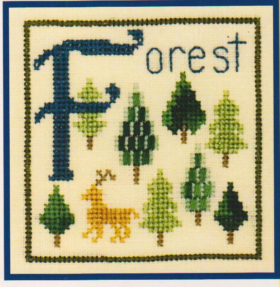 click here to view larger image of F is For Forest (chart)