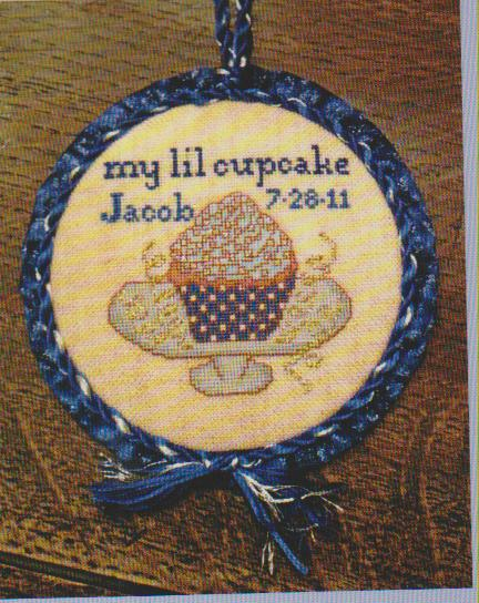 click here to view larger image of My Lil Cupcake- Boy (chart)