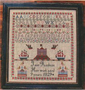 click here to view larger image of Jane Rushton Sampler (chart)