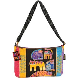 click here to view larger image of Fantastic Feline Totem - Medium Tote W/Zipper Top  (accessory)