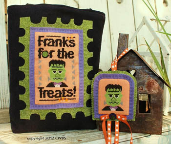 click here to view larger image of Franks For The Treats (chart)