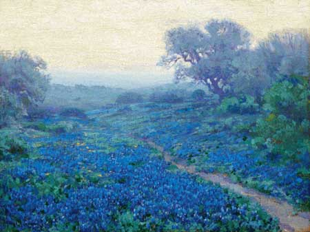click here to view larger image of Bluebonnets at Sunrise (chart)