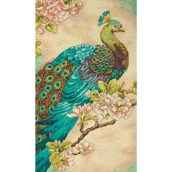 click here to view larger image of Indian Peacock (counted cross stitch kit)