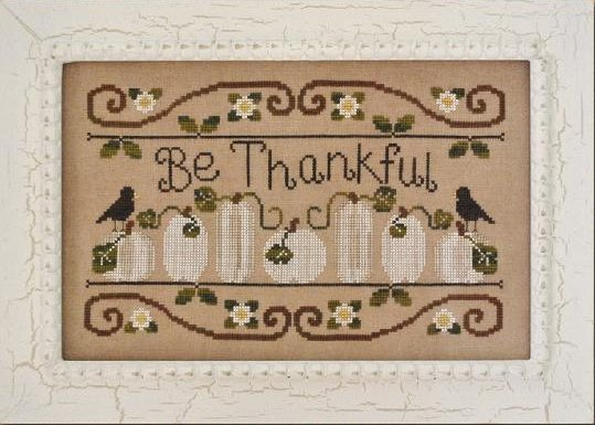 click here to view larger image of Be Thankful (chart)