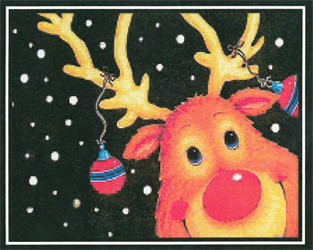 click here to view larger image of Rudolph The Red Nosed Reindeer (chart)
