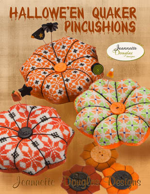 click here to view larger image of Halloween Quaker Pincushions (chart)