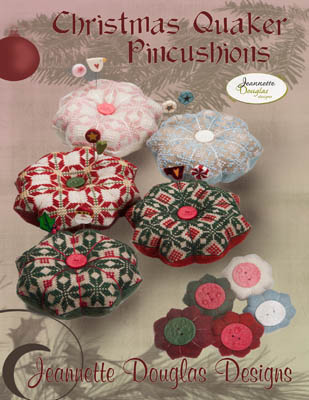click here to view larger image of Christmas Quaker Pincushions (chart)